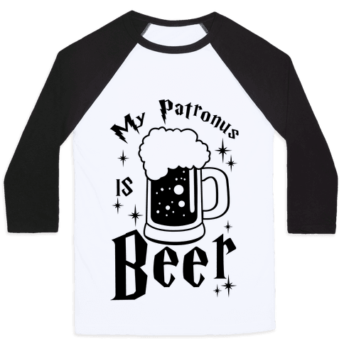 My Patronus Is Beer Baseball Tee