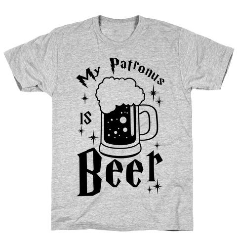 My Patronus Is Beer Mens T-Shirt
