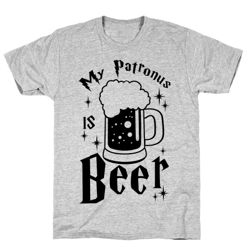 My Patronus Is Beer Mens T-Shirt