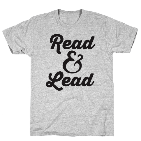 Read & Lead Mens T-Shirt