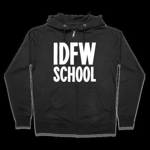 IDFW School Zip Hoodie