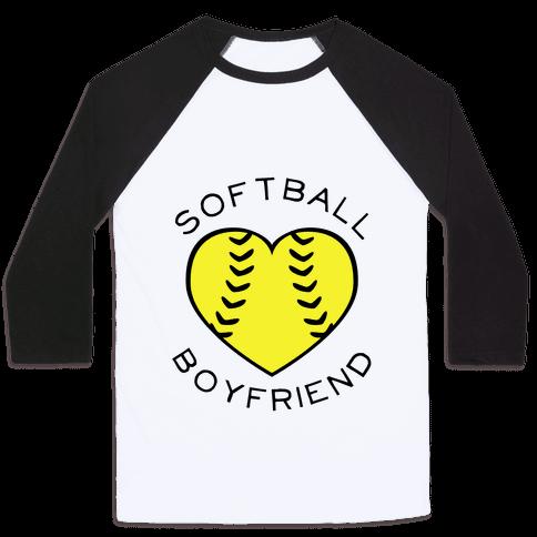 Softball Boyfriend (Baseball Tee) Baseball Tee