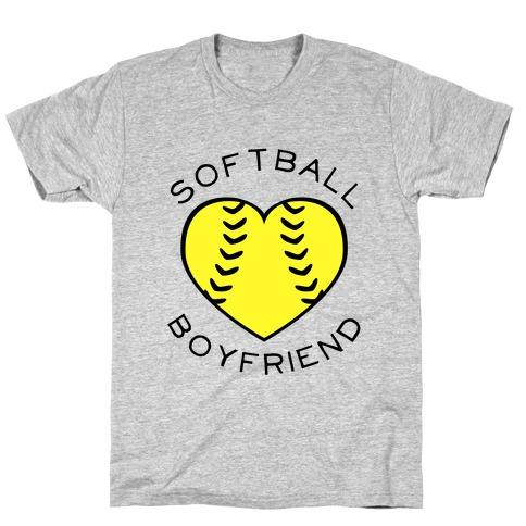 Softball Boyfriend (Baseball Tee) T-Shirt