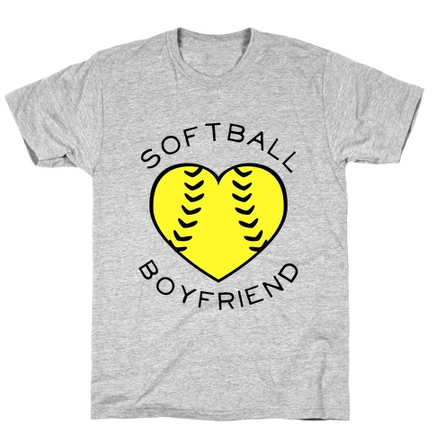 Softball Boyfriend (Baseball Tee) T-Shirt