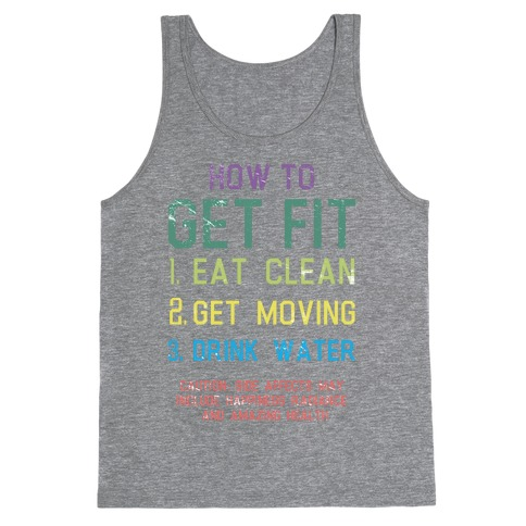 How to Get Fit Tank Top