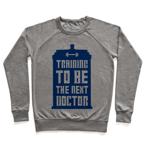 Training to be the Next Doctor (Dr.Who) Pullover