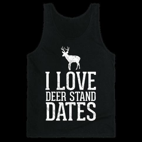 I Love Deer Stand Dates Tank Top