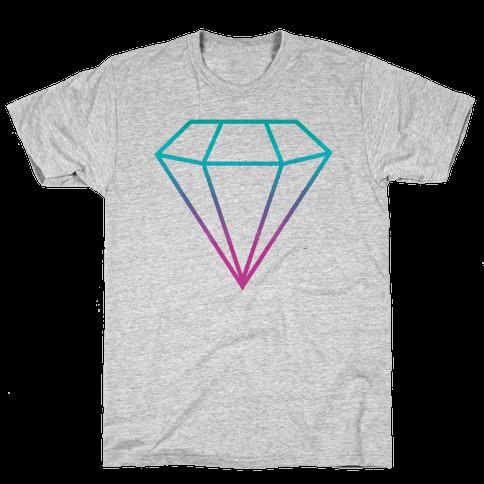 Neon Gem Mens T-Shirt