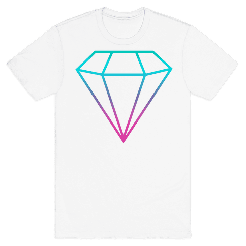 Neon Gem Mens T-Shirt