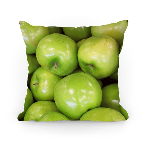Green Apple Pillow Pillow