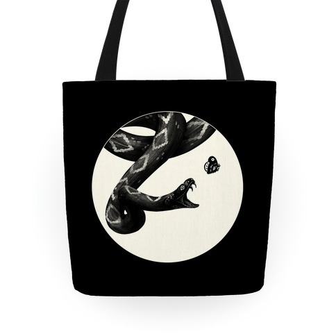 Deadly Diamonds Rattler and Moth Tote