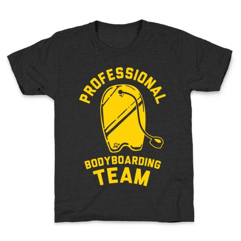 Professional Body Boarding Team Kids T-Shirt