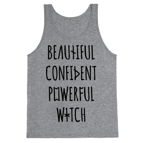 Beautiful Confident Powerful Witch Tank Top