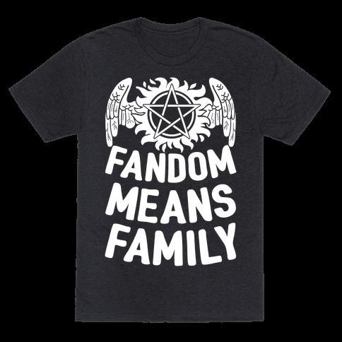 Fandom Means Family (Supernatural)