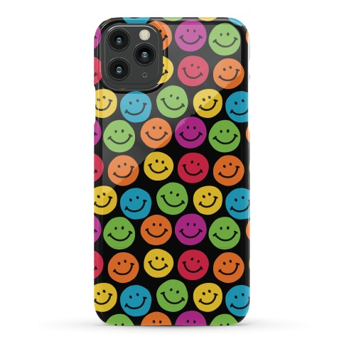 Smiley Sticker Pattern Phone Case