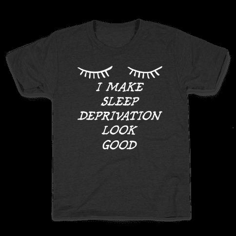 Sleep Deprivation Kids T-Shirt