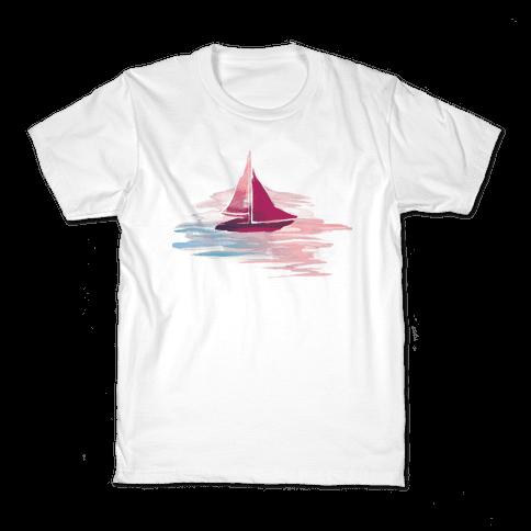 Sail The Seas Kids T-Shirt