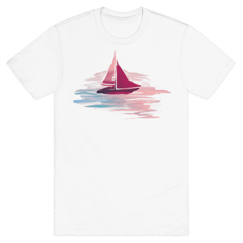 Sail The Seas Mens T-Shirt