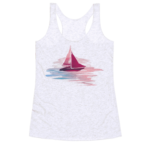 Sail The Seas Racerback Tank Top