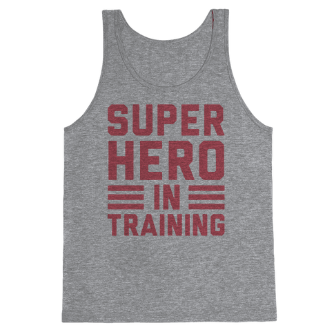 SuperHero In Training Tank Top