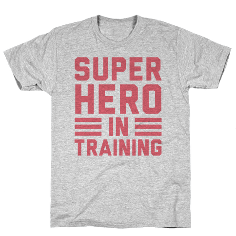 SuperHero In Training Mens T-Shirt