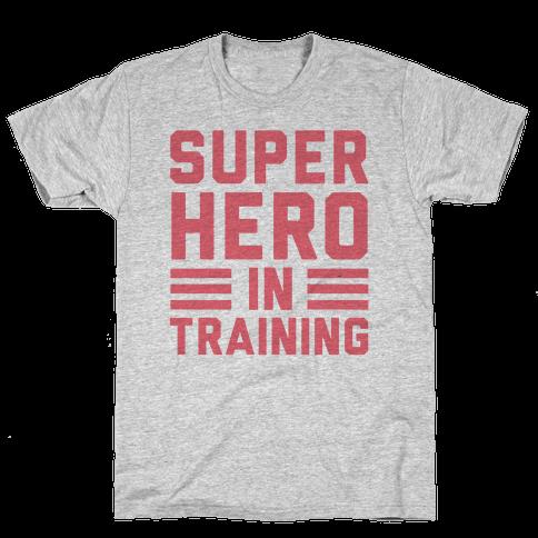 SuperHero In Training Mens T-Shirt