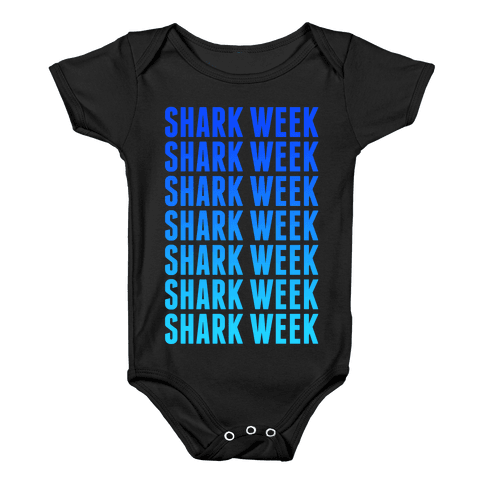 Shark Week Baby Onesy