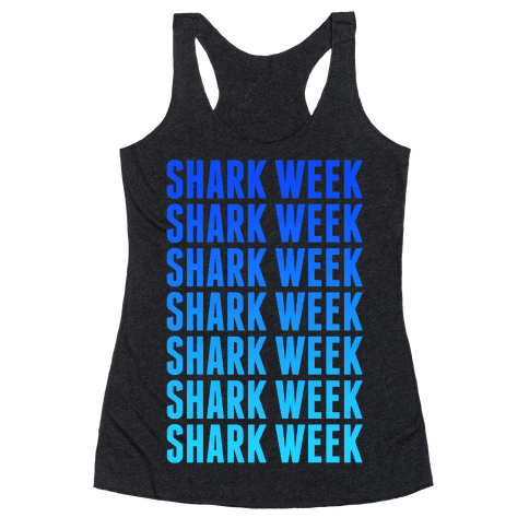 Shark Week Racerback Tank Top