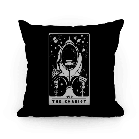 The Chariot Space Rocket Tarot Card