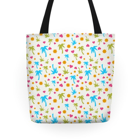 Beach Love Pattern Tote Tote