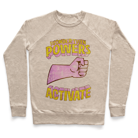 Wonder Twin Powers Activate 1 Pullover