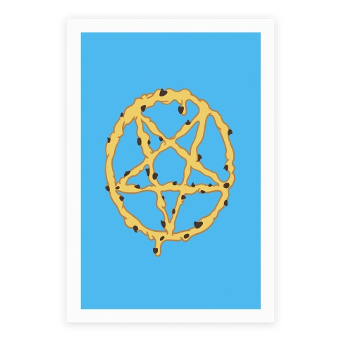 Cookie Dough Pentagram Poster