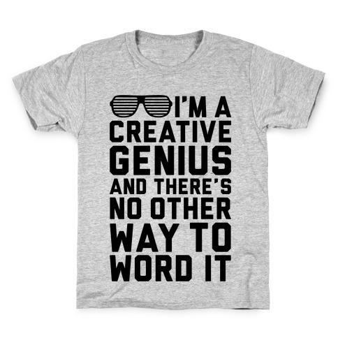 Creative Genius Kids T-Shirt