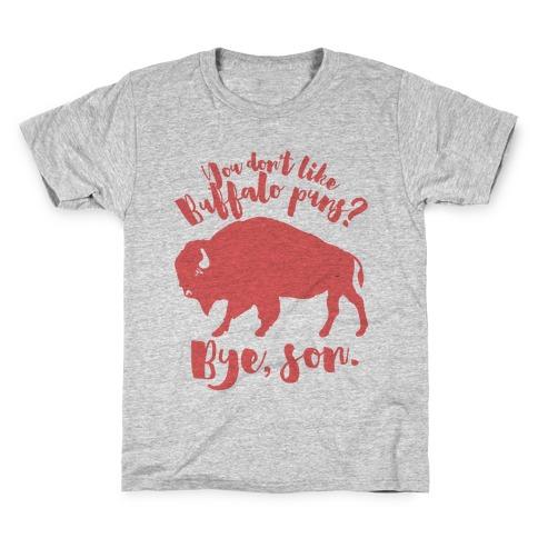 Buffalo Puns Kids T-Shirt