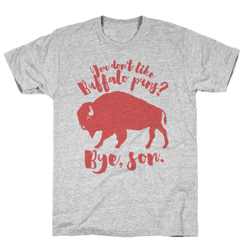 Buffalo Puns Mens T-Shirt