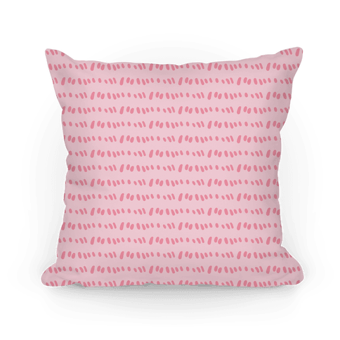 Doodle Sewing Stitches Pattern (Pastel Pink)