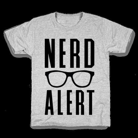 Nerd Alert Kids T-Shirt