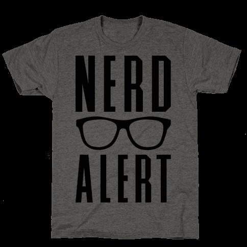 Nerd Alert Mens T-Shirt