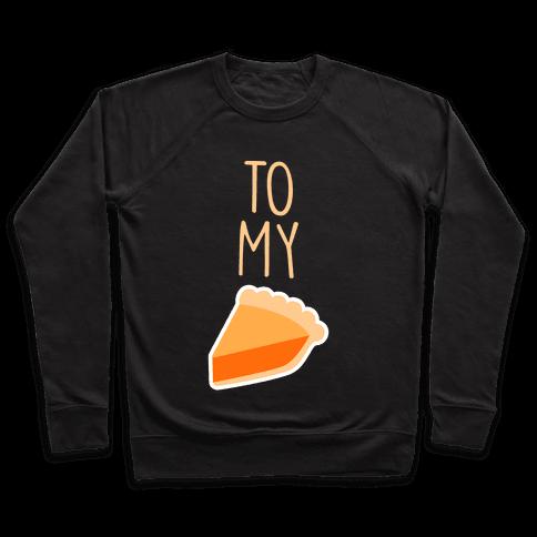 Pumpkin Pie (Whipped Cream & Pumpkin Pie Couples Shirt) Pullover
