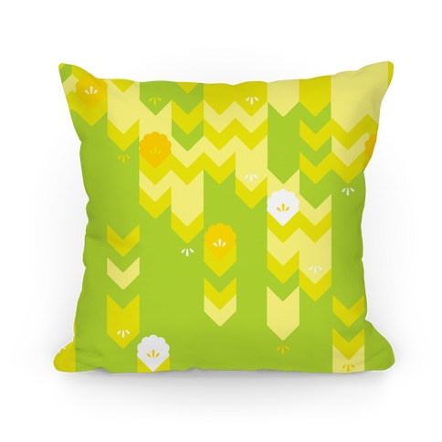 Spring Sweater Pattern Pillow