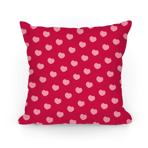 Red and Pink Polka Dot Hearts