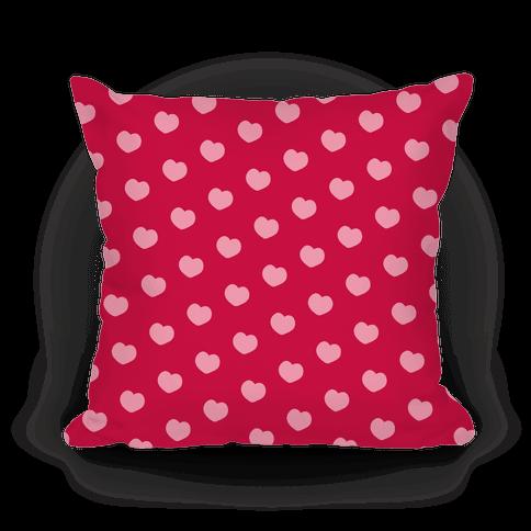 Red and Pink Polka Dot Hearts