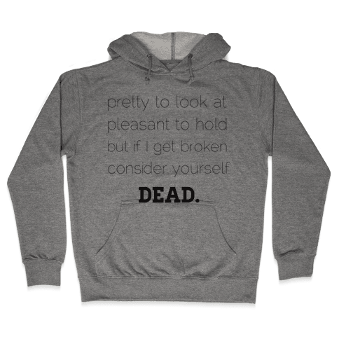 Pleasant to Hold Hooded Sweatshirt