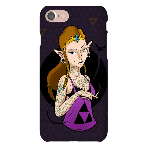 Punk Zelda Parody Phone Case
