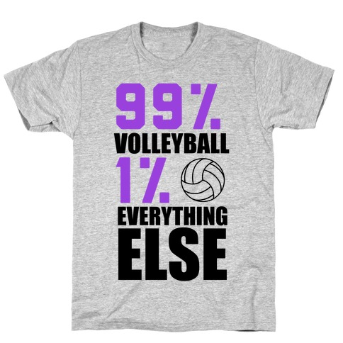 99% Volleyball T-Shirt
