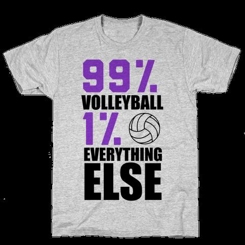 99% Volleyball Mens T-Shirt
