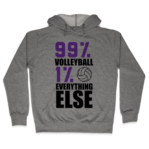 99% Volleyball Hooded Sweatshirt
