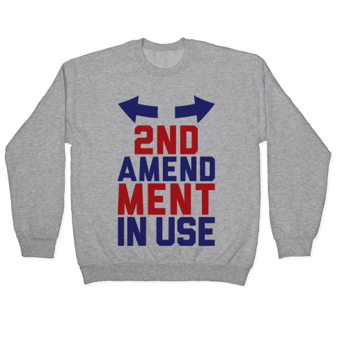 2nd Amendment In Use Pullover