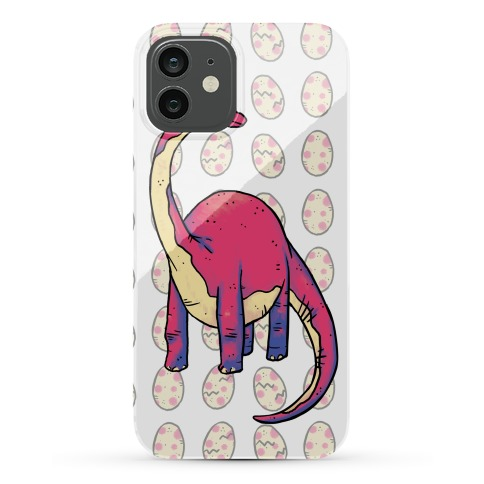 Derpy Dinosaur Phone Case