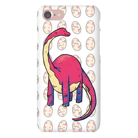 Derpy Dinosaur Phone Case